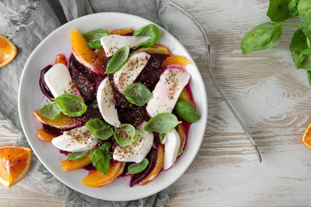 Mediterranean Style Salad Recipe